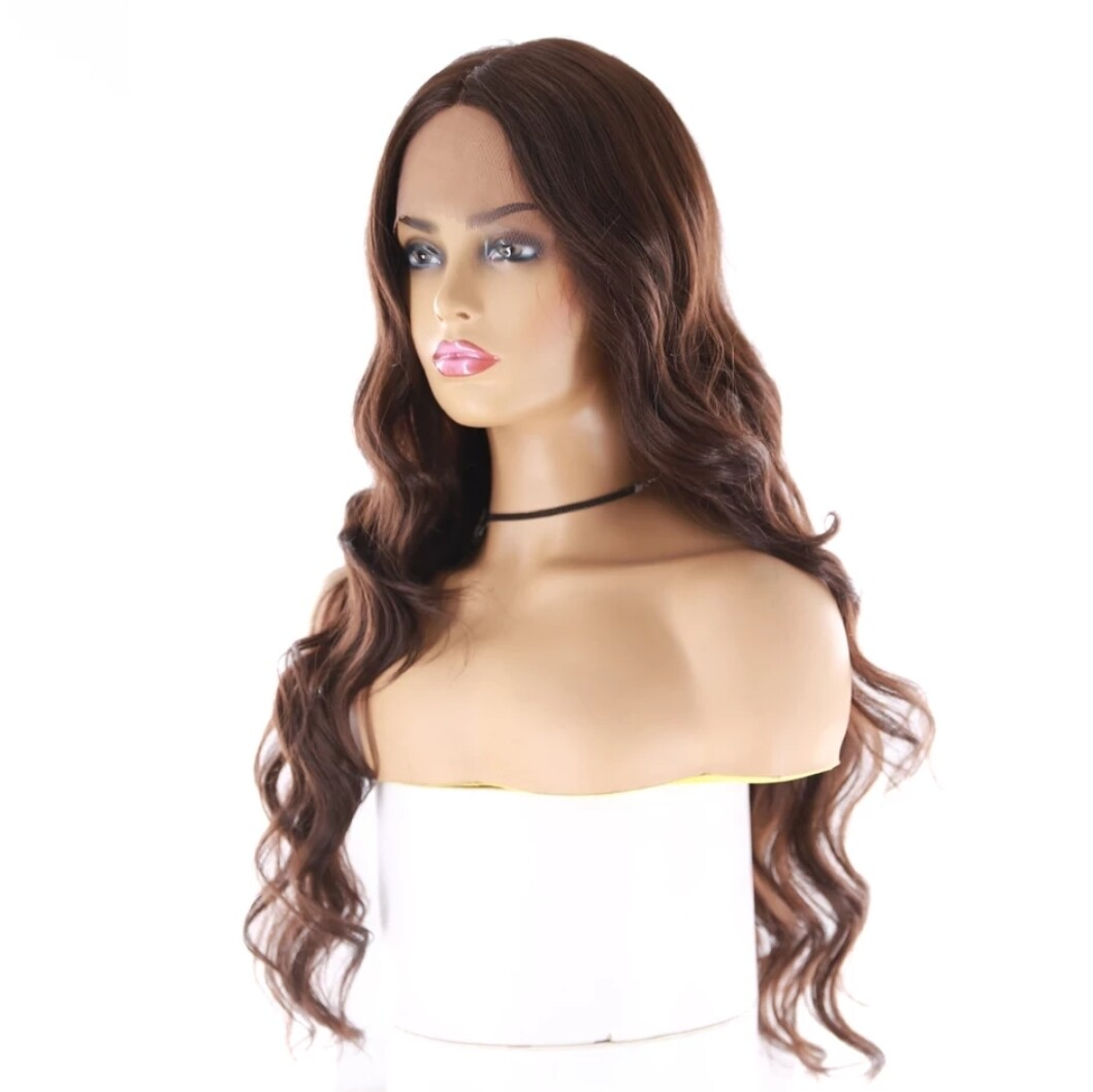 Chocolate Brown Lace Front