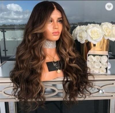 Dark Brown With Frontal Highlights