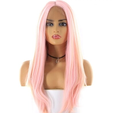 Baby Pink Lace Front
