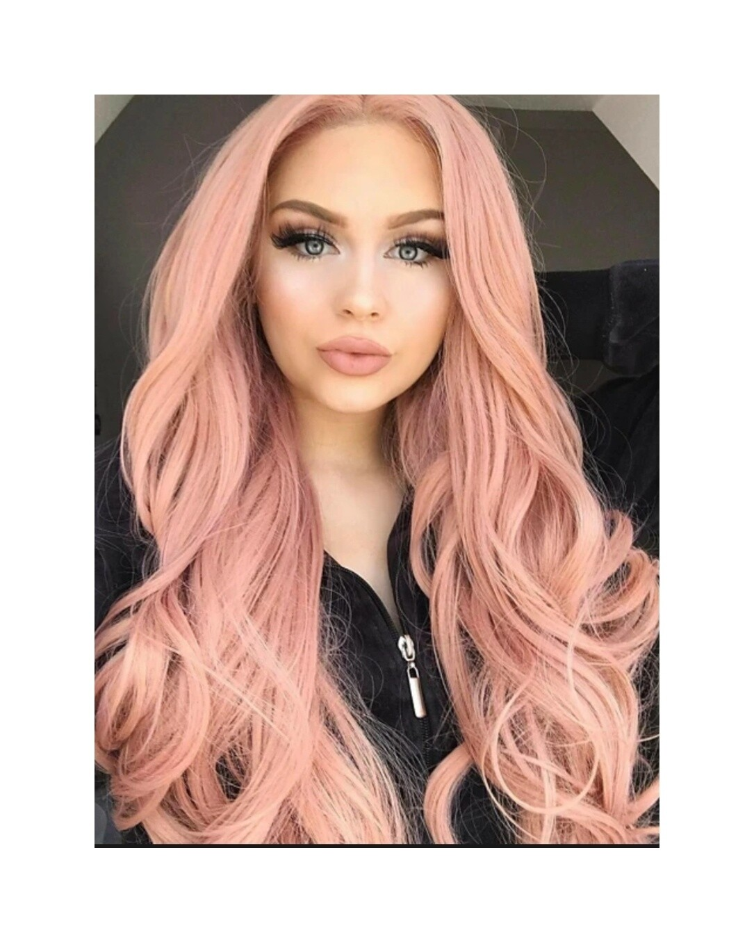 Pretty Pink Wavy