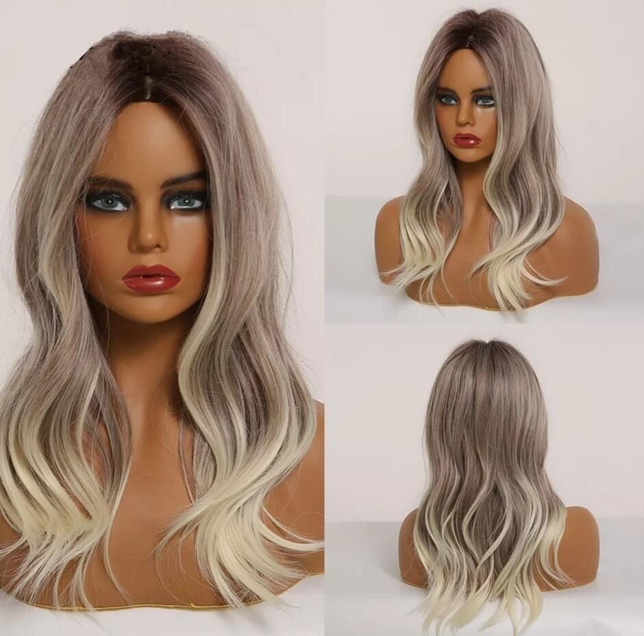 Ash Blonde Ombre Soft Wave