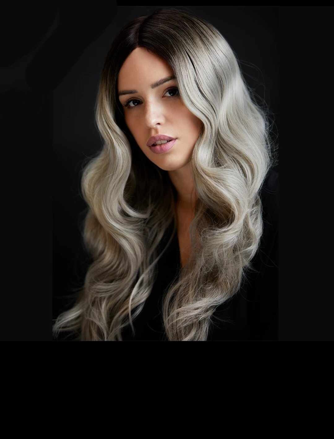Grey Ombre Body Wave Lace Front