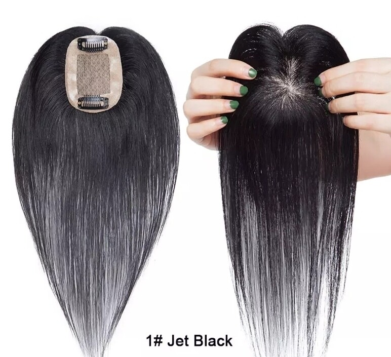 """Toppers - Human Hair 12"""""""