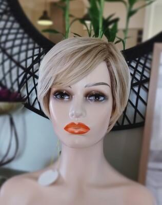 Blonde Mix Pixie Cut