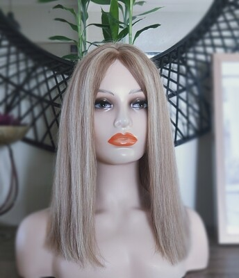 """Mix Blonde Human Hair Lace Front 18"""""""