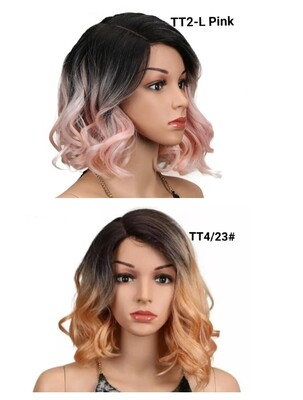 Ombre Wavy Lace Front Bobs