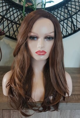 Honey Brown Balayage Free Part Lace Front