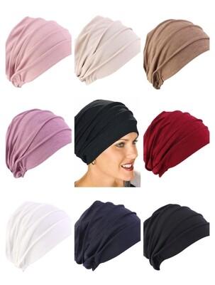 Ruffle Turban Cap