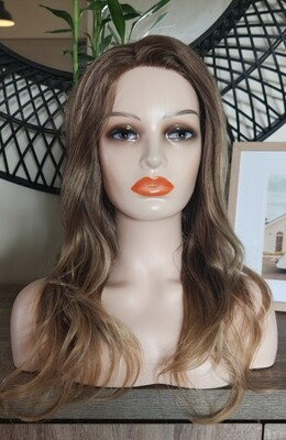 Natural Blonde Layered Side Part Lace Front