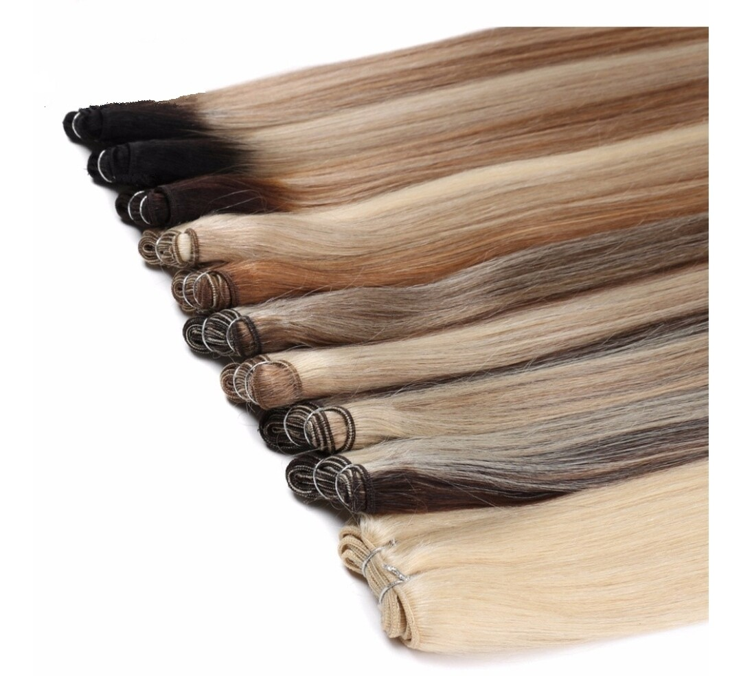 """Weft Extensions Russian Double Drawn 20"""" Straight"""