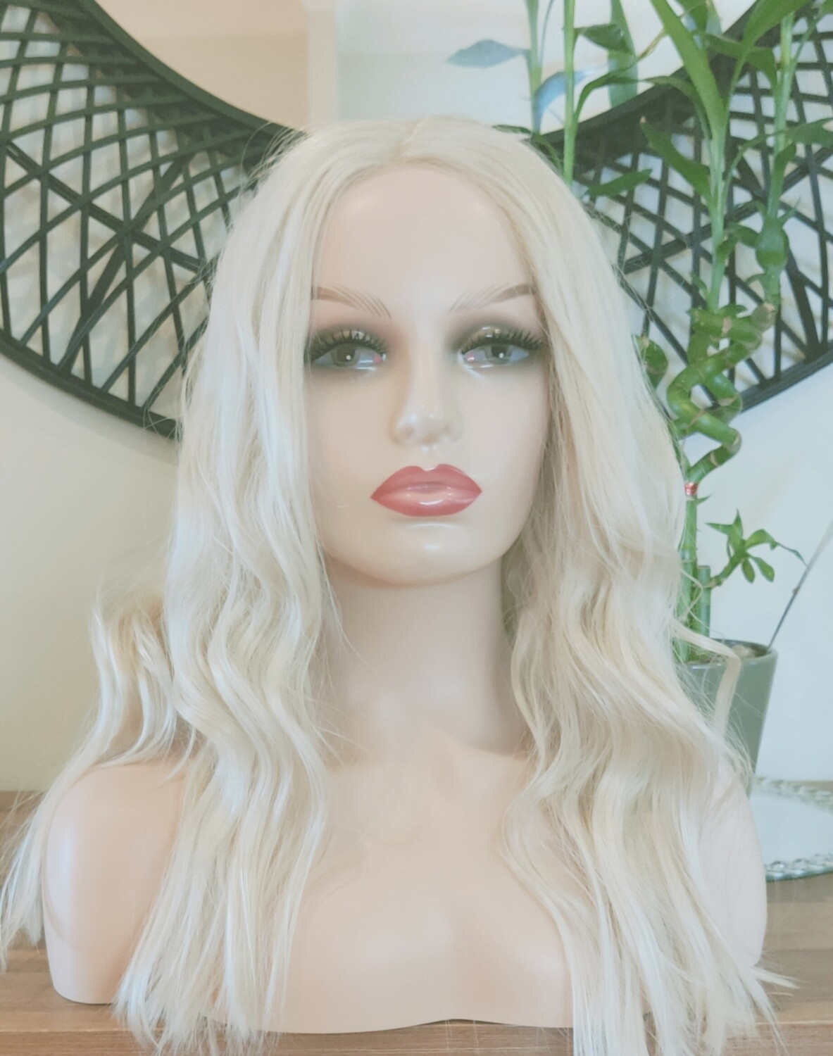 Blonde Lace Front Free Part with pre plucked Hair