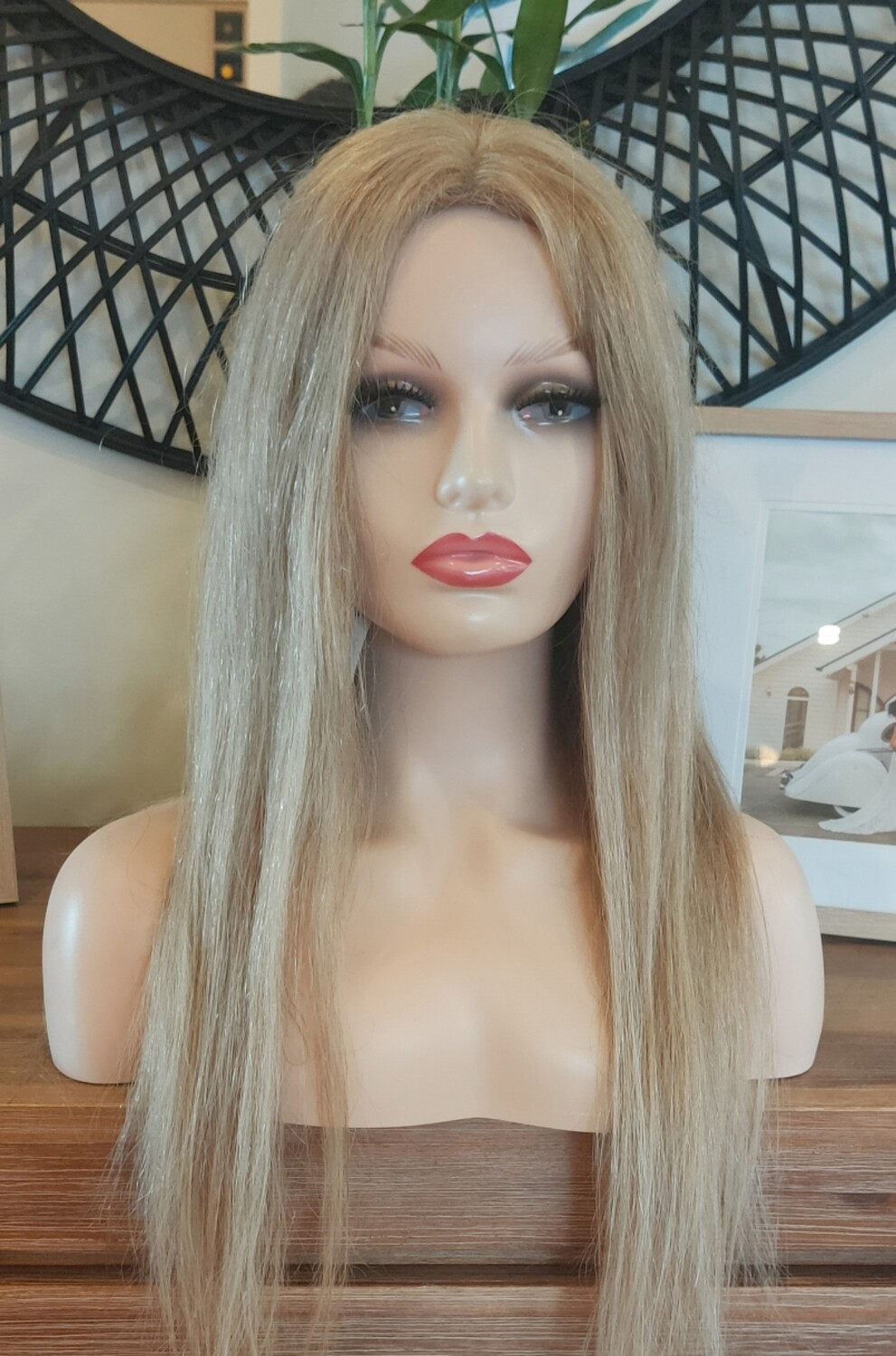 """Honey Blonde Human Hair Lace Front 24"""""""