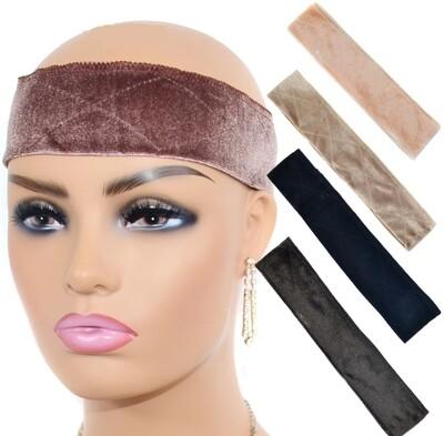 Anti Headache Velvet Wig Grip/ Headband