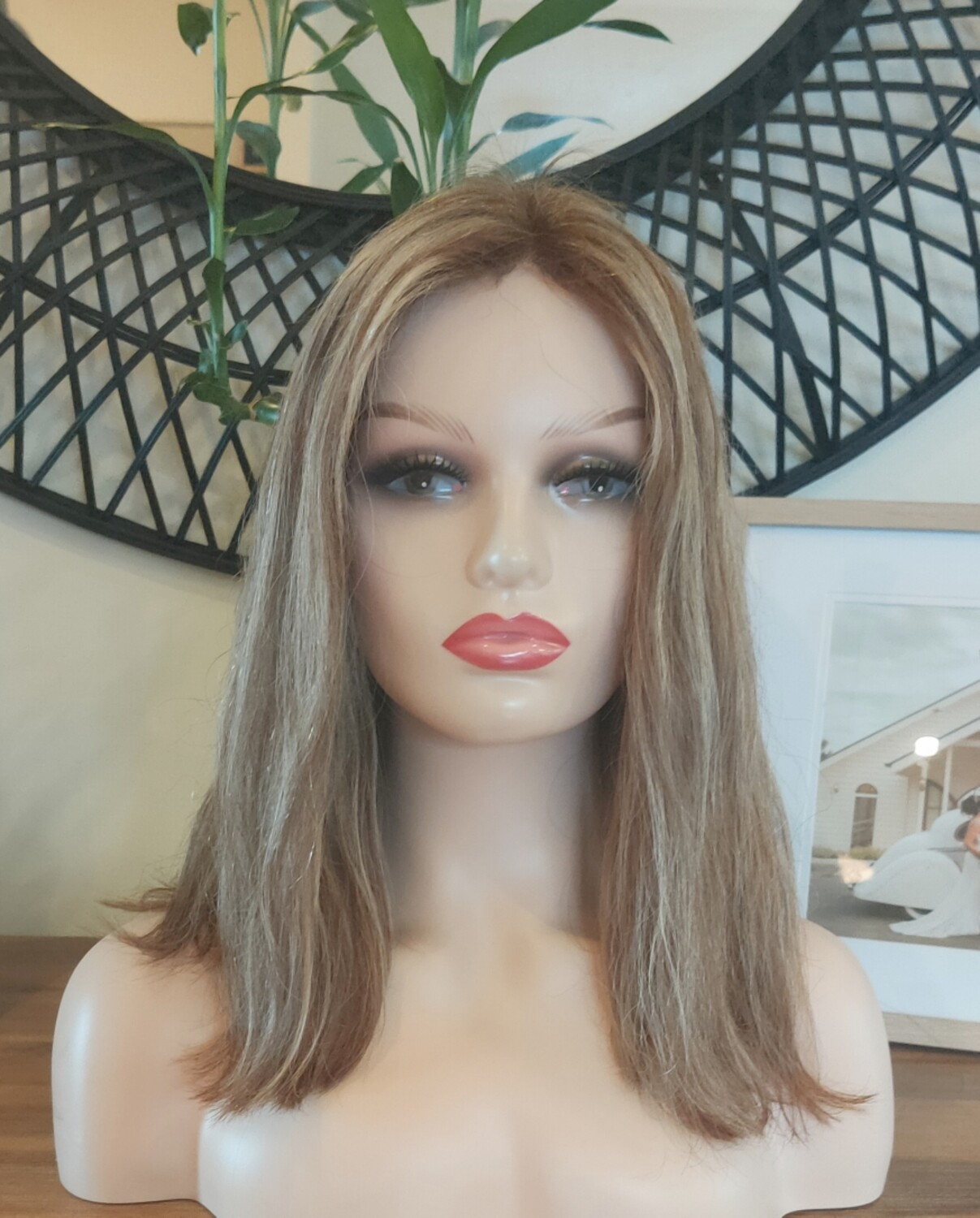 Blonde Mix Human Hair Lace Front