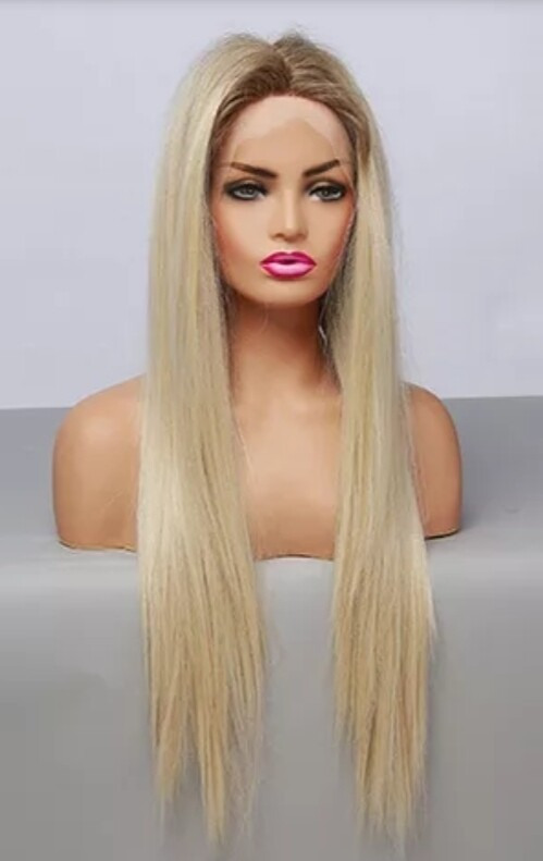 Natural Blonde Ombre Lace Front