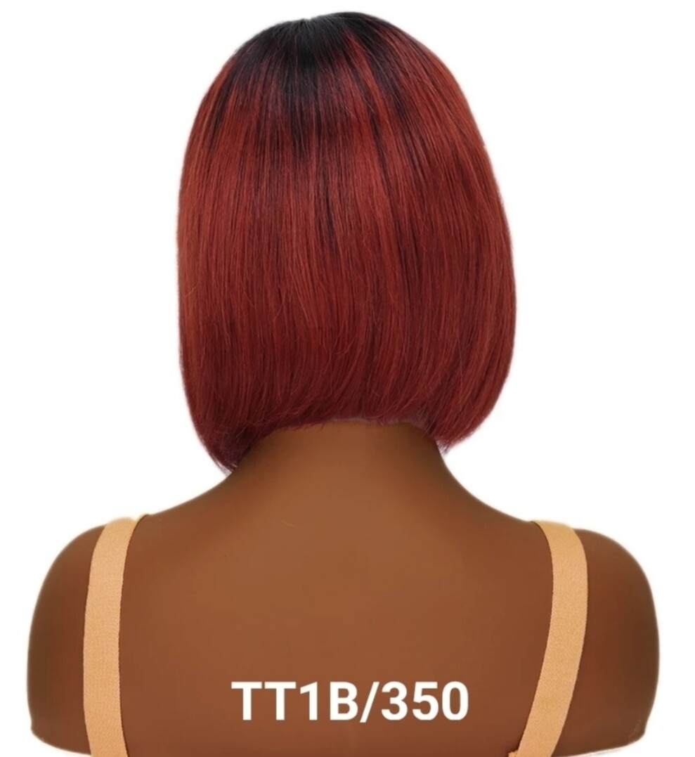 """Colour Human Hair Bobs with Fringe 8-10"""""""