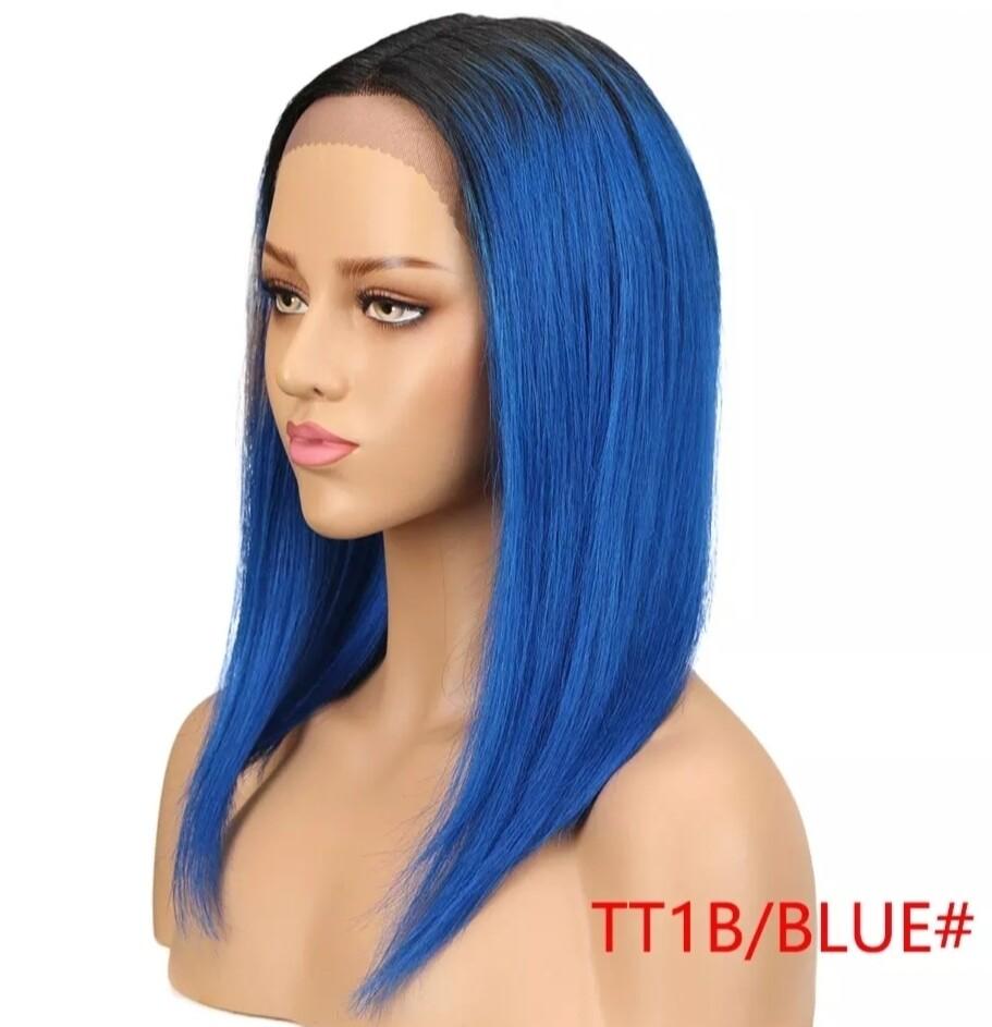 Various Colours Centre Part Human Hair Lace Fronts