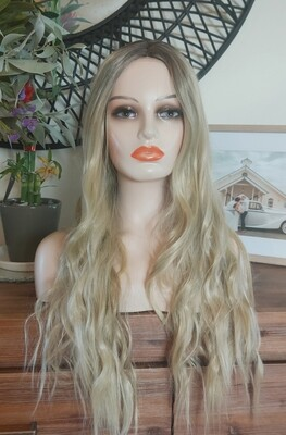 Sandy Blonde Ombre Water Wave