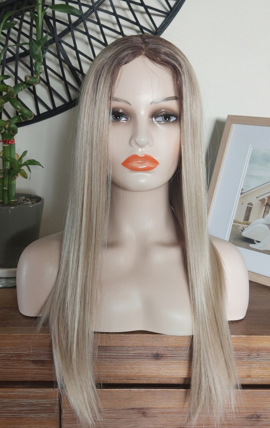 Light Blonde Ombre Lace Front