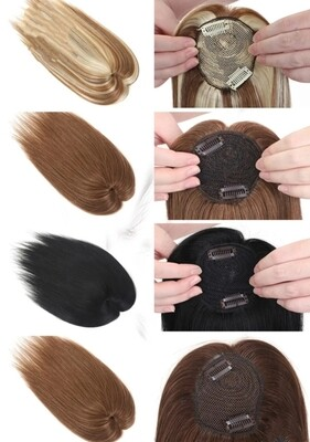 """Toppers - Human Hair 14"""""""