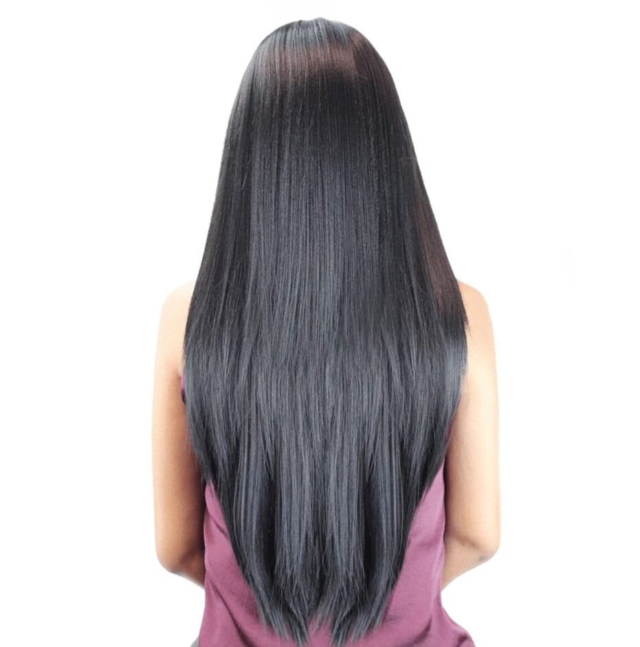 Jet Black Straight Lace Front