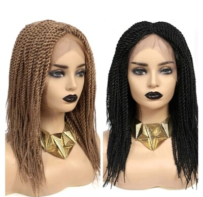Box Braided Lace Front