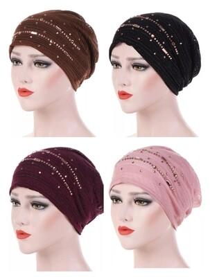 Decorative Turban Cap