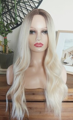 Blonde Ombre Water Wave