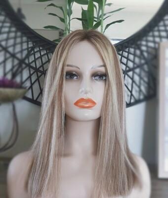 Dark Blonde Mix Human Hair Lace Front