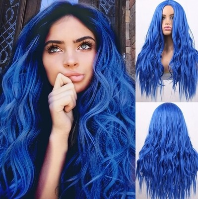 Electric Blue Beachy Wave