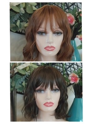 Beachy Wave Bobs with Fringe
