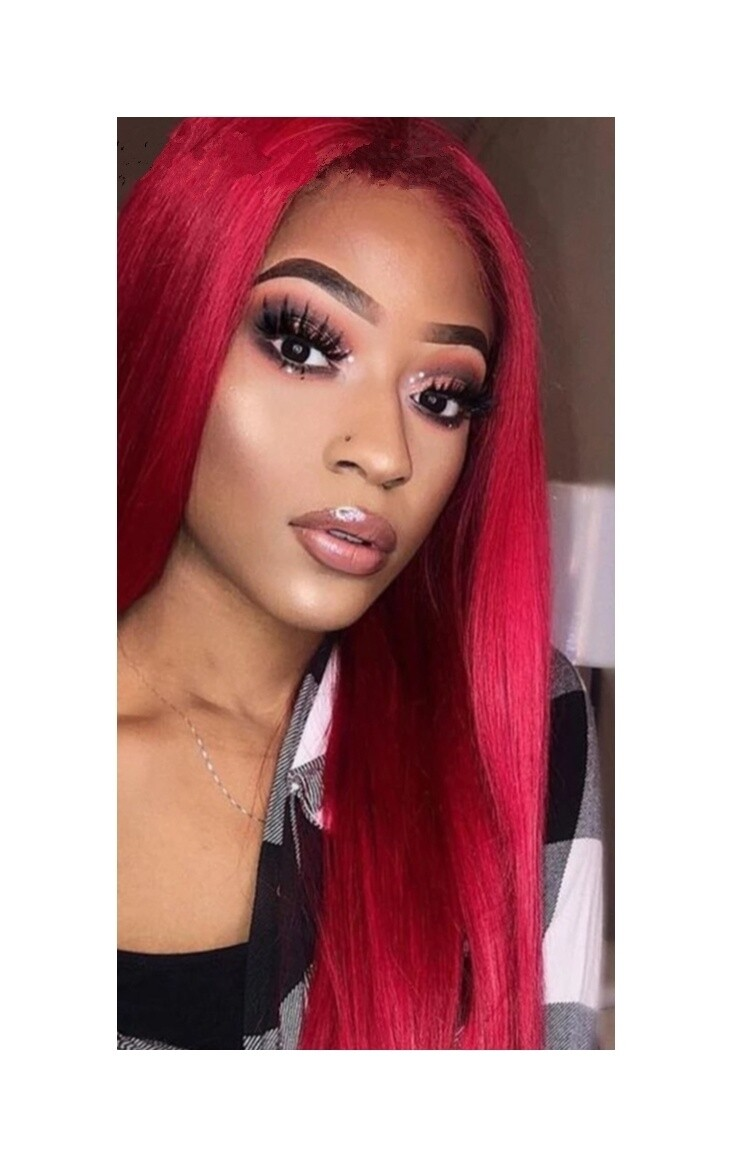 Vibrant Red Straight