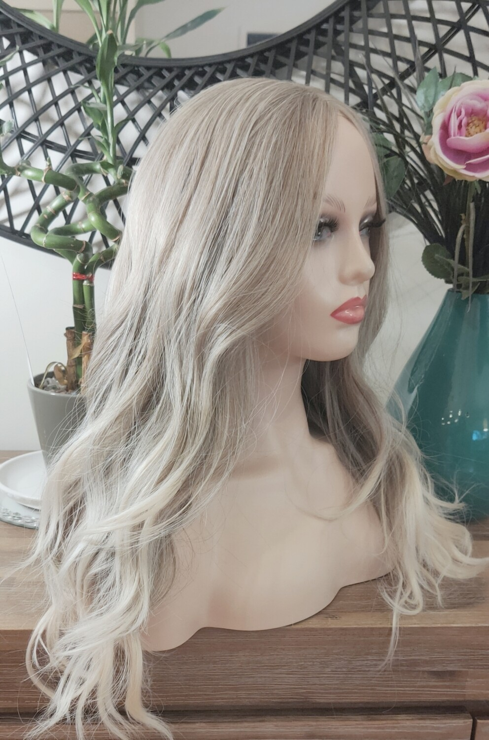 Ashy Blonde Lace Front