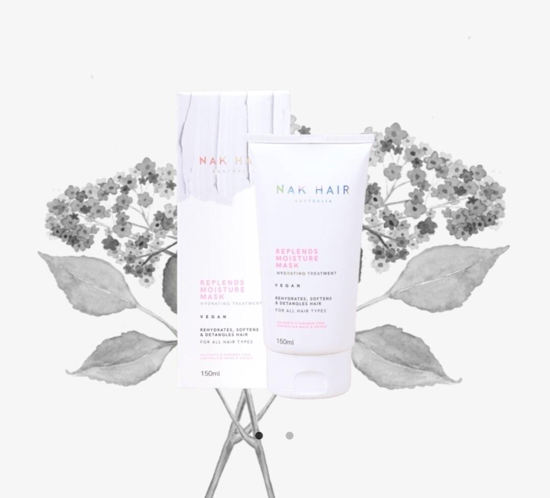 Nak Hair Replends Moisture Mask Hydrating Treatment 150mL