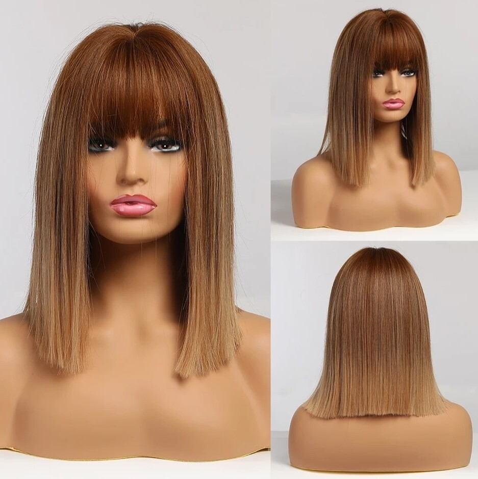 Honey Brown Ombre with Fringe