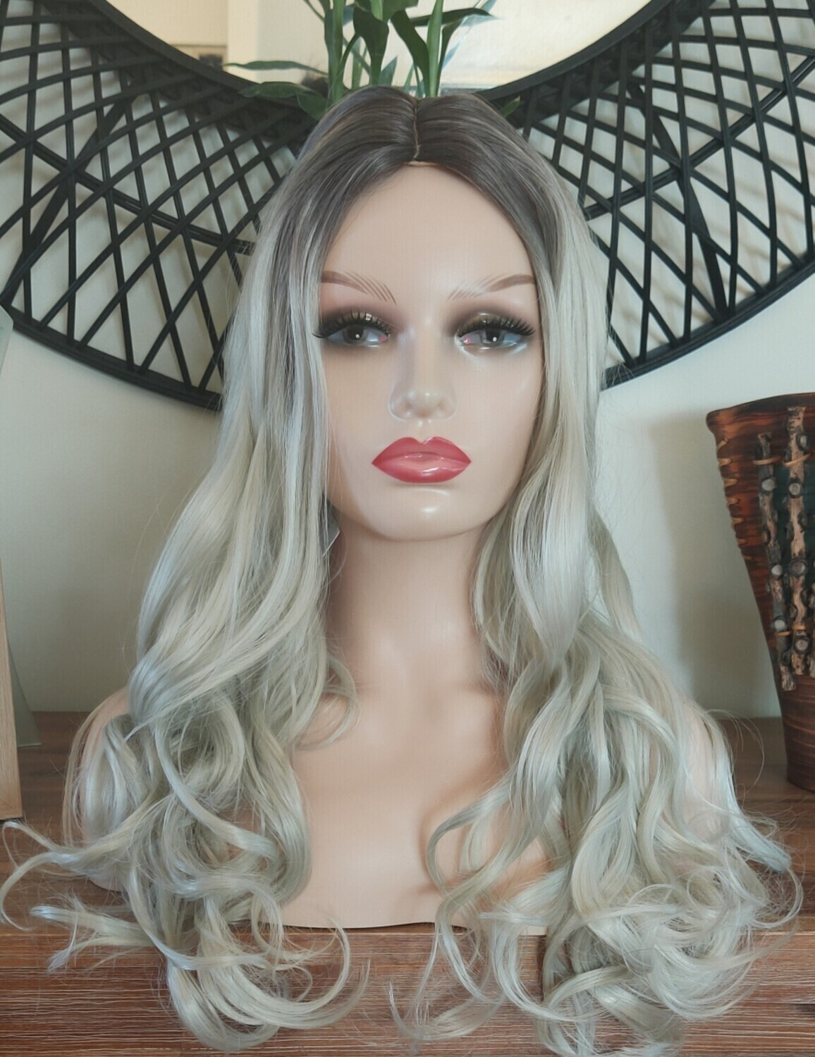 Silver Blonde Ombre Body Wave