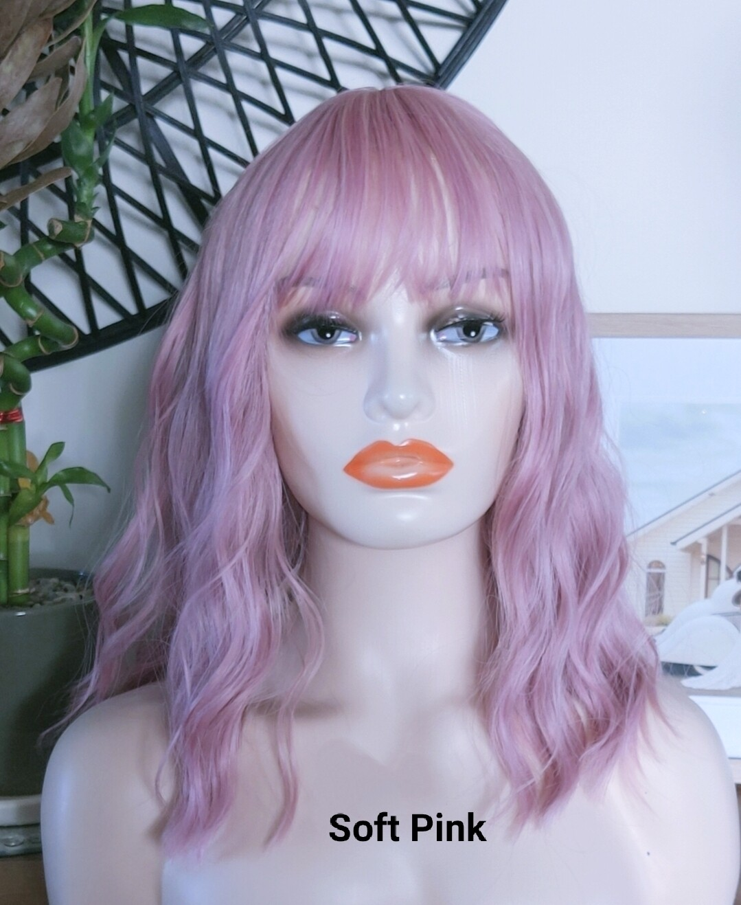 Water Wave Bobs with Fringe