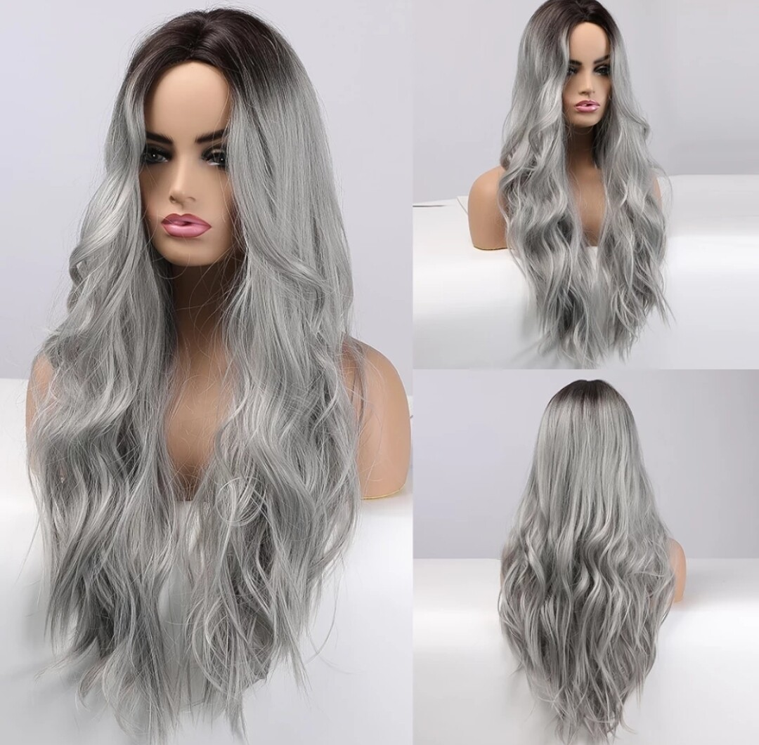 Silver Ombre Body Wave