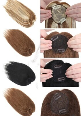 """Toppers - Human Hair 10"""""""