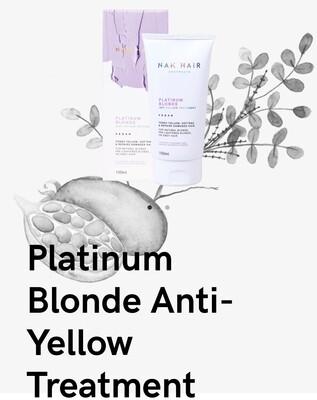 Nak Hair Platinum Blonde Anti-Yellow Treatment 150mL