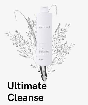 Nak Hair Ultimate Cleanse Shampoo 375mL