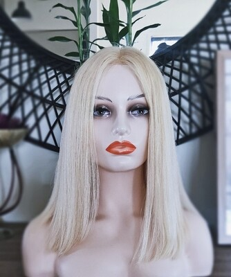 Light Blonde Human Hair Lace Front