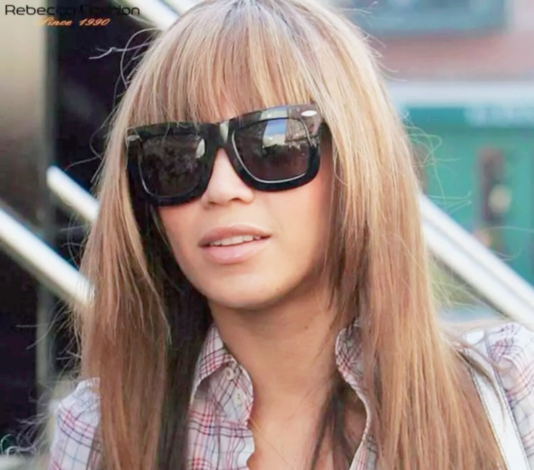 """Blonde Mix Human Hair with Fringe 16""""-20"""""""