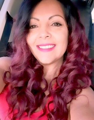 Wine Red Ombre Deep Wave Lace Front Pre Plucked Hair