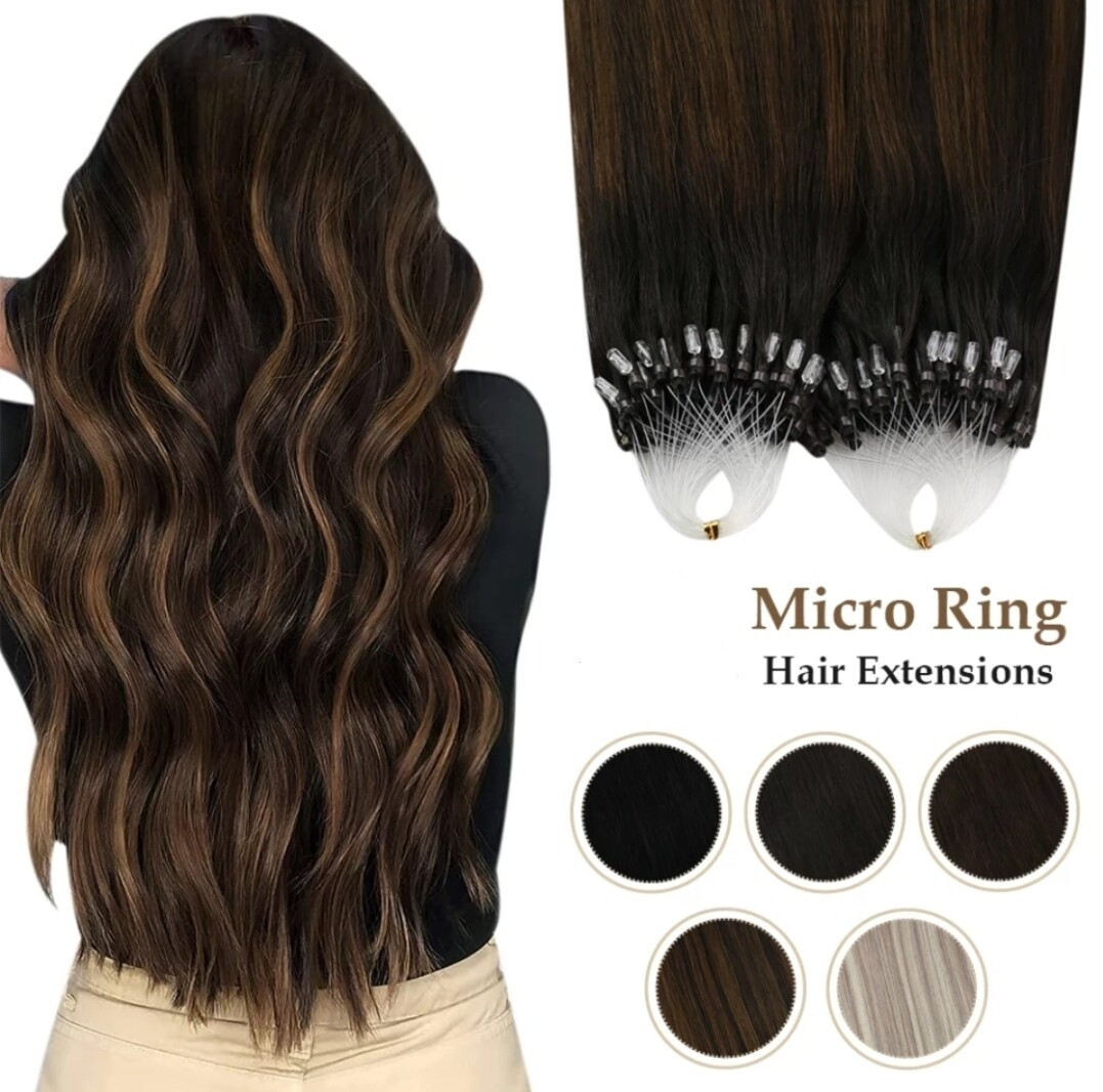 """Micro Bead Extensions Russian Remy 22"""" (100 PCS/Full head)"""