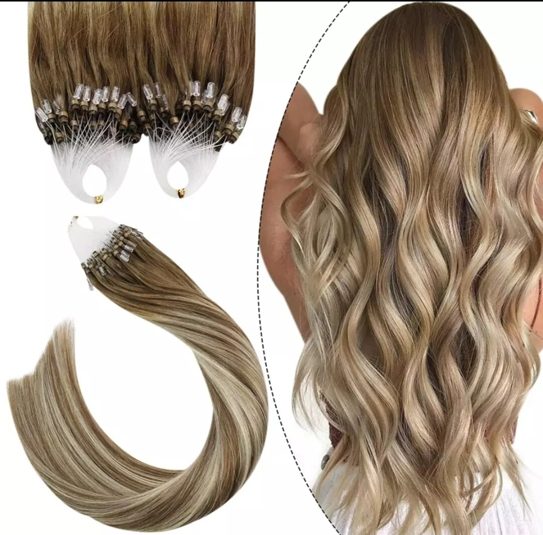 """Micro Bead Extensions Russian Remy 24"""" (100 PCS/Full head)"""
