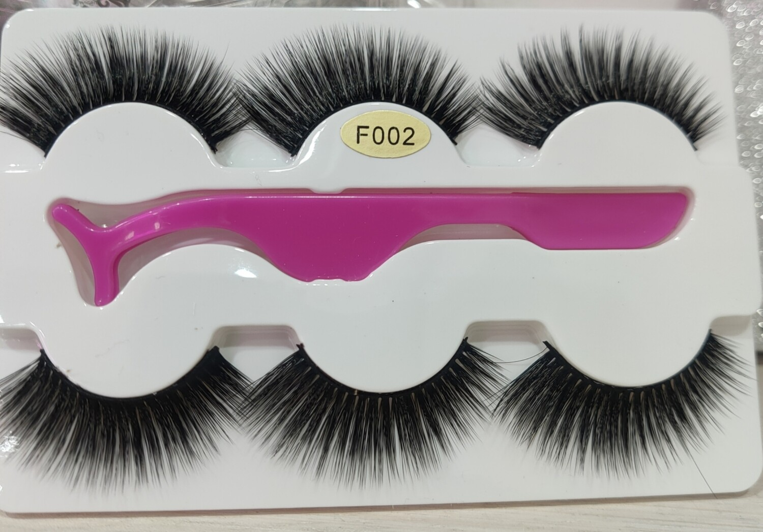 3D-8D Eye Lashes 3 pieces - Thick and Dramatic
