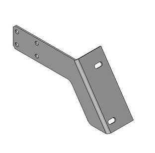 090-006-129	Bracket, Sweep, LH
