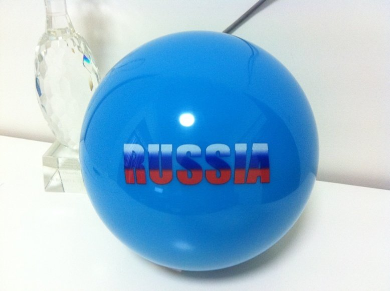 Clear ball Russia
