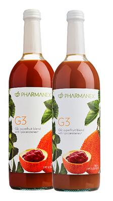 g3® Juice 4 Pack SIZE 4 X 750 ML BOTTLES FREE SHIPPING